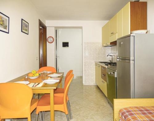 open-space cucina e sala da pranzo