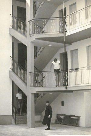 foto storica di villa viel negli anni 70
